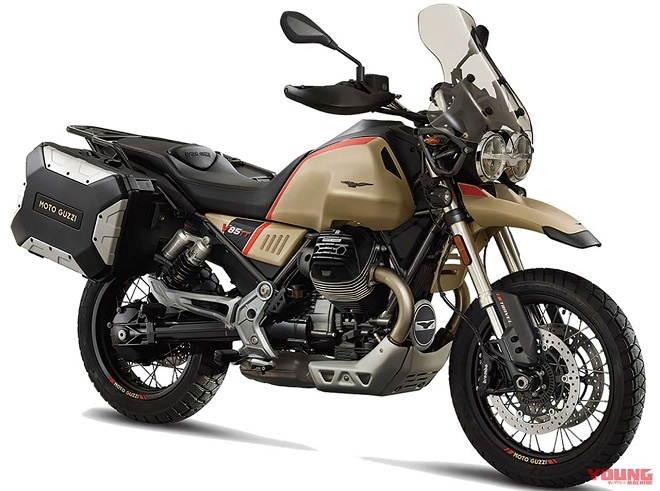 Moto Guzzi tung các biến thể đặc biệt cho các tín đồ mê phượt