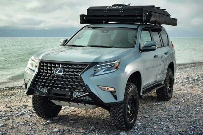 Cận cảnh GX Overland - concept SUV off-road siêu sang của Lexus