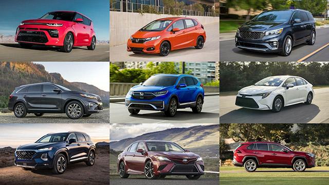 Điểm qua vài mẫu xe được đánh giá đáng mua trong năm 2020