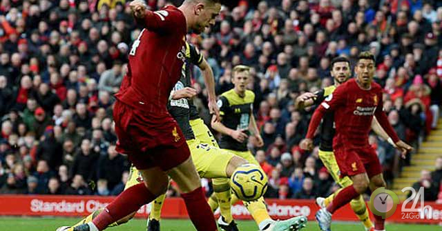 Video highlight trận Liverpool – Southampton: Hiệp 2 rực rỡ, cú đúp ngôi sao