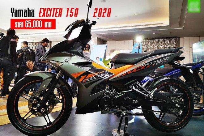 2020 Yamaha Exciter 150 ra mắt tại Thái Lan, giá từ 48,28 triệu đồng - 1