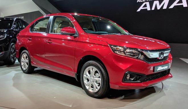 Honda Amaze 2020 trình làng, bản rẻ nhất giá 198 triệu đồng