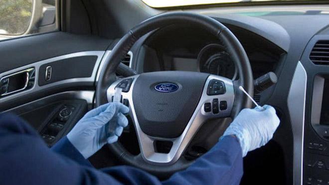 Bí quyết để hạn chế vi khuẩn trên xe ô tô - 1