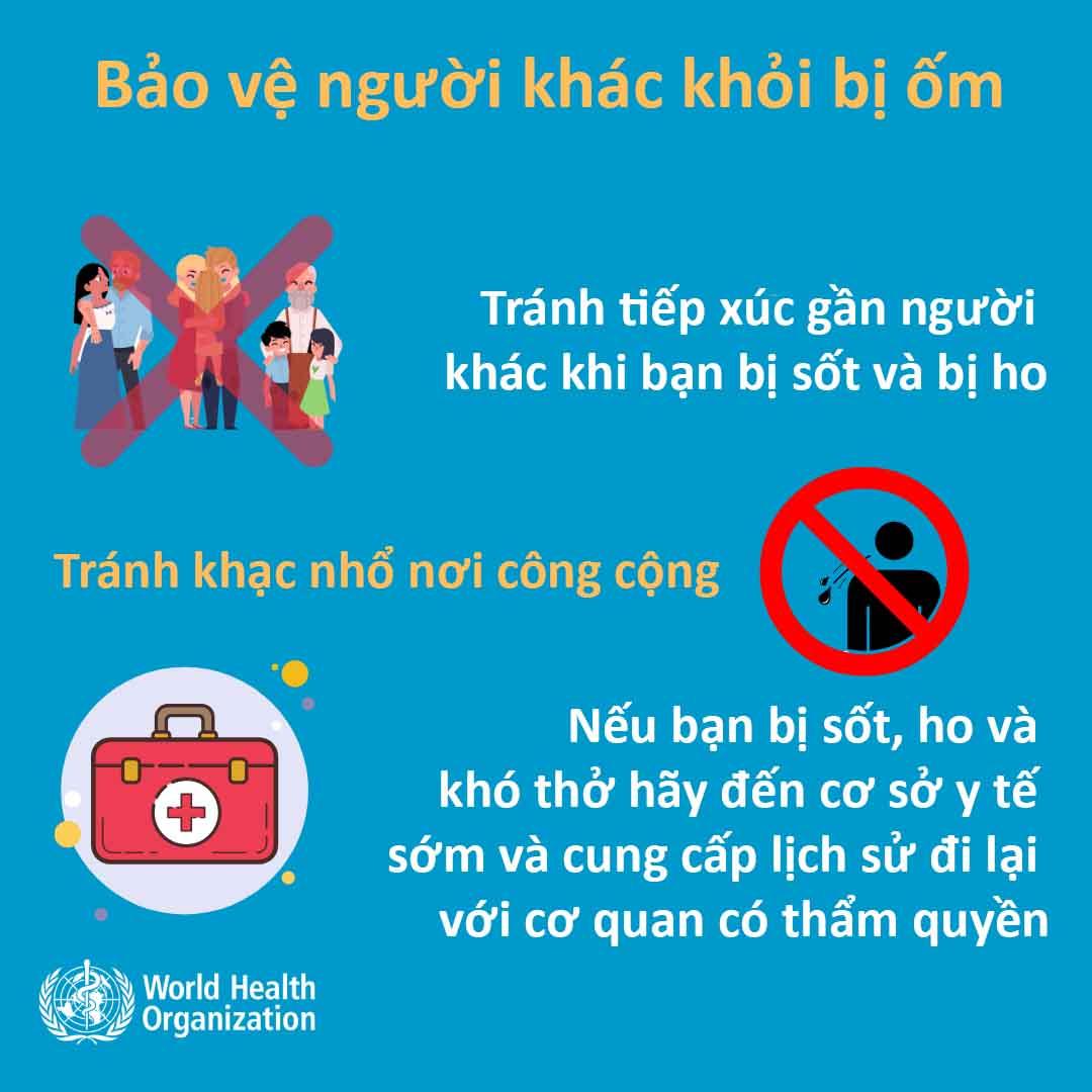 Khuyến nghị chính thức của WHO về cách phòng tránh lây nhiễm virus Corona - 4