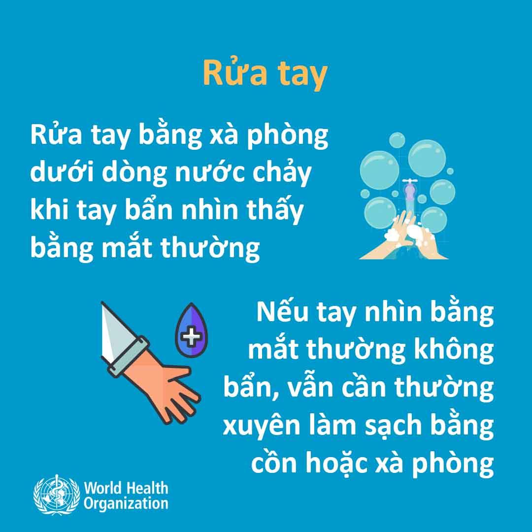 Khuyến nghị chính thức của WHO về cách phòng tránh lây nhiễm virus Corona - 1