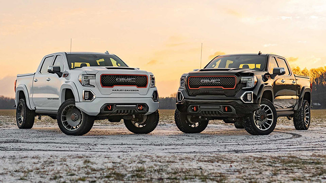 See the large special-edition GMC Sierra pickup