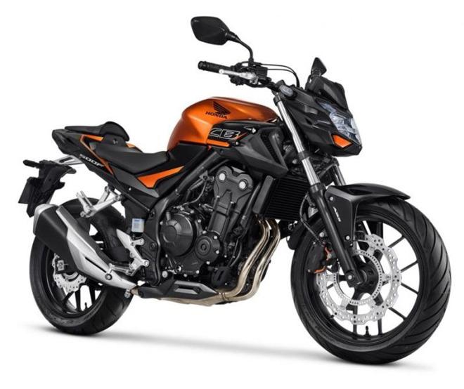 Honda CB500F 2020 ra mắt công chúng, màu sắc rực rỡ hơn - 2
