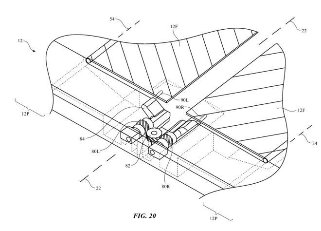 Apple lại lộ bằng sáng chế smartphone có màn hình gập, Galaxy Fold sắp hết cửa - 2