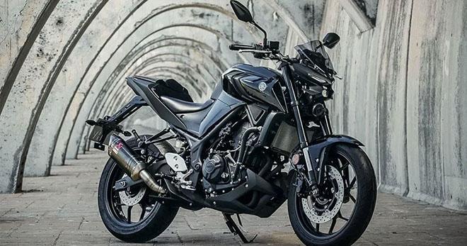 """Yamaha MT-03 định ngày ra mắt tại Đông Nam Á: giá cũng sẽ """"mềm"""" - 1"""