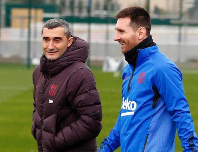 Messi gây ẩu đả trên sân tập Barca: Danh tính đồng đội xô xát được tiết lộ