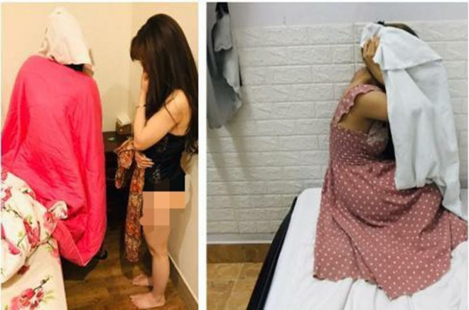 Kiểm tra nhà nghỉ phát hiện hai cô gái đang bán dâm