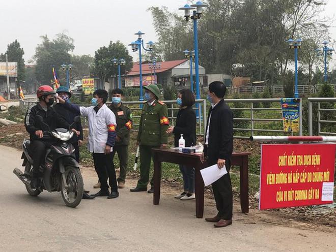 Nóng: Vĩnh Phúc quyết định phong tỏa