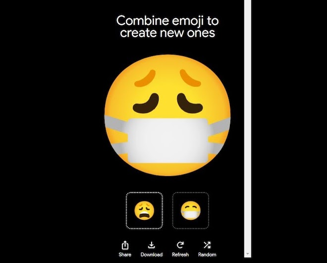 Google cho phép tự chế emoji, chẳng hạn 'tình yêu khẩu trang thời dịch Corona' - 6