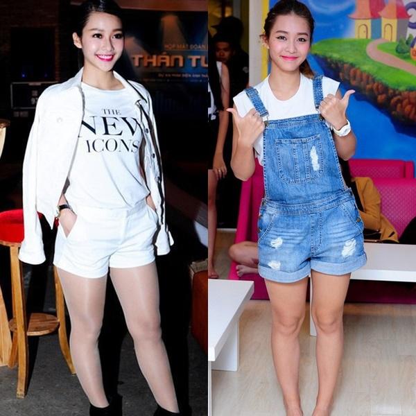 Cách gọn bớt đôi chân lực sĩ của cô gái Việt mặt đẹp nhất châu Á - 2