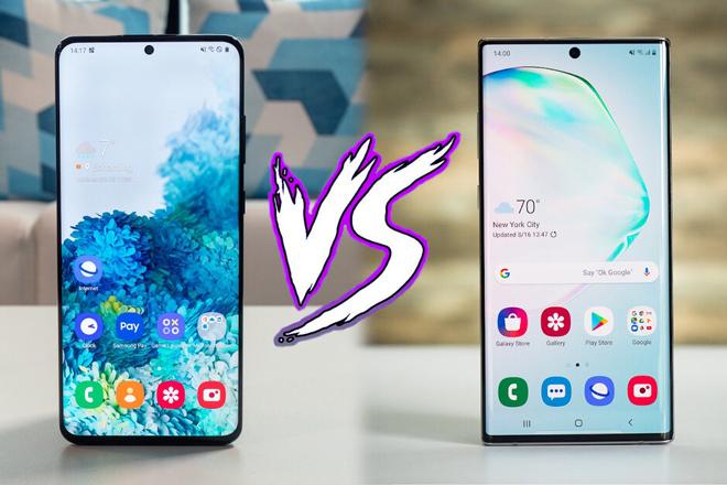 """So sánh nhanh hai """"người khổng lồ"""" Galaxy S20 Ultra và Galaxy Note 10+ - 1"""