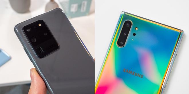 """So sánh nhanh hai """"người khổng lồ"""" Galaxy S20 Ultra và Galaxy Note 10+ - 2"""