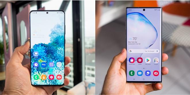 """So sánh nhanh hai """"người khổng lồ"""" Galaxy S20 Ultra và Galaxy Note 10+ - 3"""