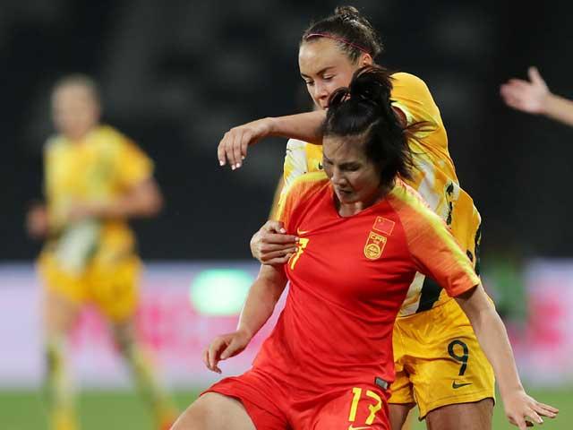 ĐT nữ Australia đấu nữ Trung Quốc, chờ gặp Việt Nam: Vỡ òa siêu phẩm phút bù giờ - 1