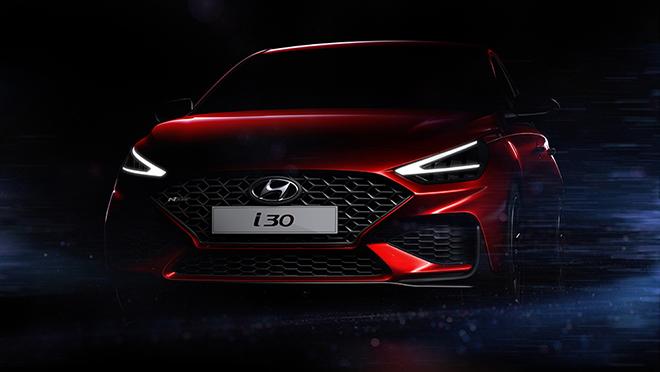 Hyundai i30 thế hệ mới lộ ảnh phác thảo trước ngày ra mắt chính thức - 1