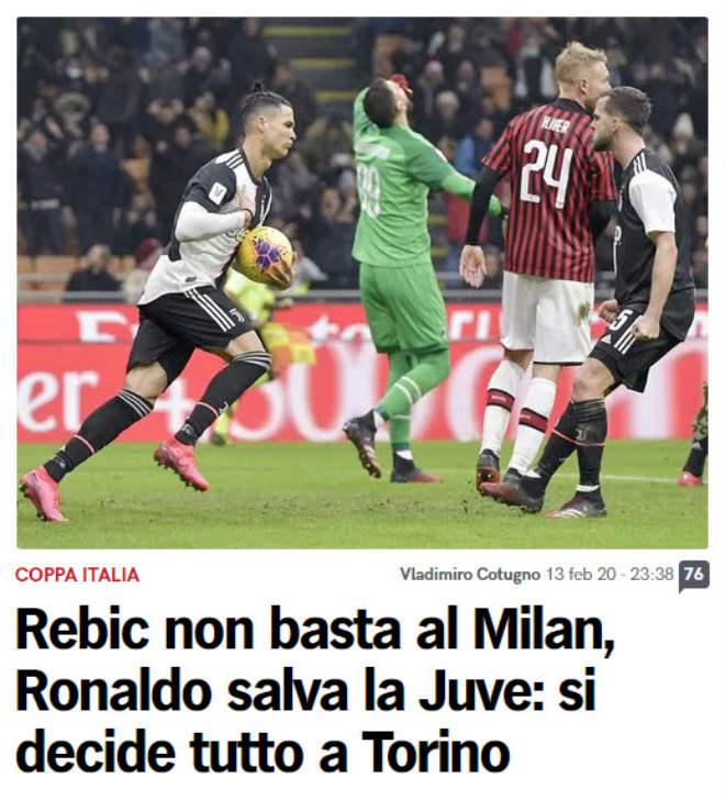 Rực lửa Ronaldo đấu Ibrahimovic: Báo Italia thán phục CR7 cứu Juventus