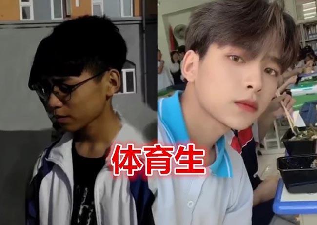 Sinh viên Trung Quốc lột xác khi vào đại học, nhìn trước và sau ai cũng không tin là thật - 3