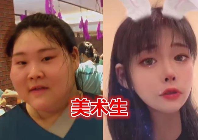 Sinh viên Trung Quốc lột xác khi vào đại học, nhìn trước và sau ai cũng không tin là thật - 4