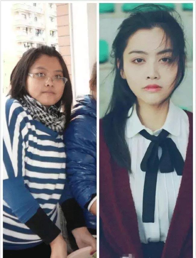 Sinh viên Trung Quốc lột xác khi vào đại học, nhìn trước và sau ai cũng không tin là thật - 14