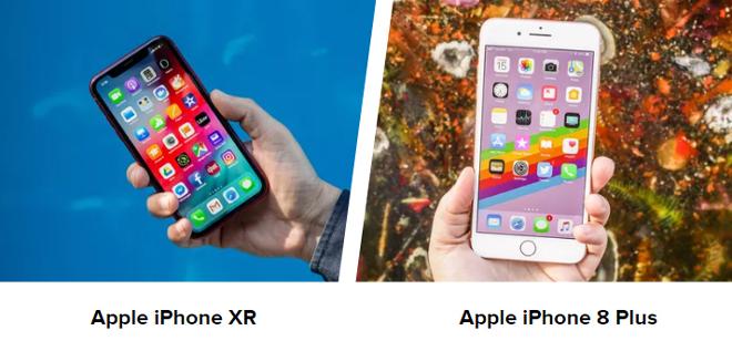 Cùng có giá 16 triệu, nên chọn iPhone XR hay iPhone 8 Plus - 1