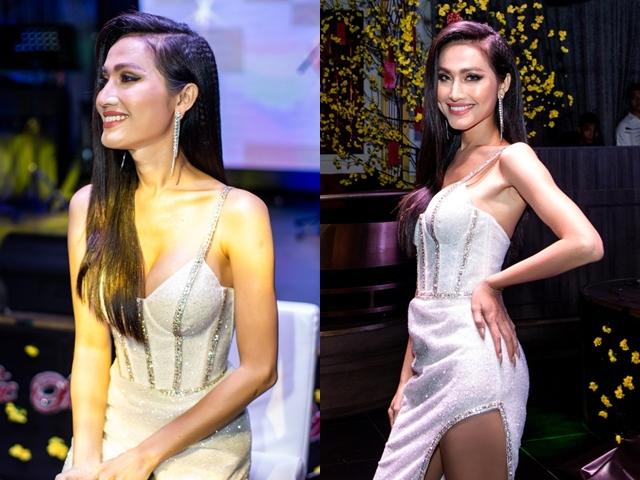 Hoa hậu chuyển giới đầu tiên của VN nóng bỏng thế này, bảo sao Trọng Hiếu không si mê - 2