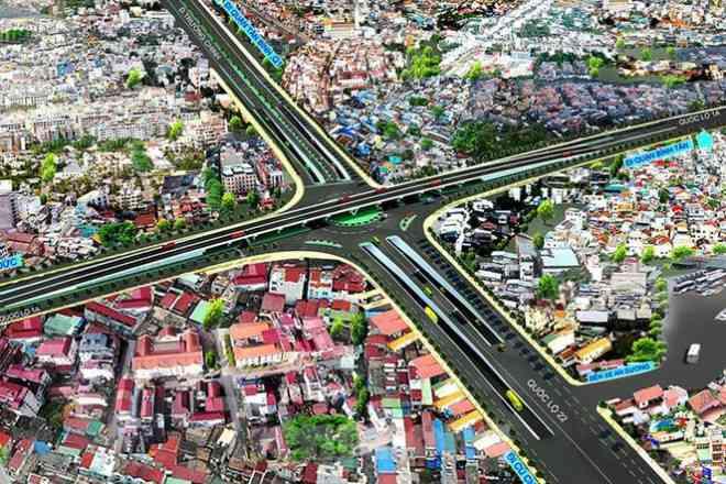 Cận cảnh nút giao thông 3 tầng giải tỏa kẹt xe cửa ngõ Sài Gòn sắp hoàn thành - 4