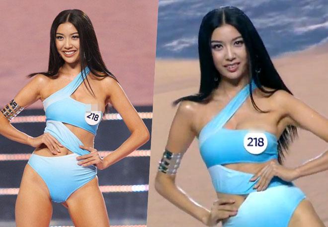 """""""Gái nhảy"""" Minh Thư lộ điểm nhạy cảm vì dùng áo thun mỏng đi bơi thay bikini - 10"""