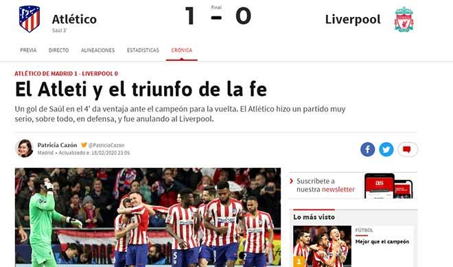 Liverpool nguy cơ thành cựu vương Cúp C1: Báo quốc tế nói gì về cơ hội ngược dòng?
