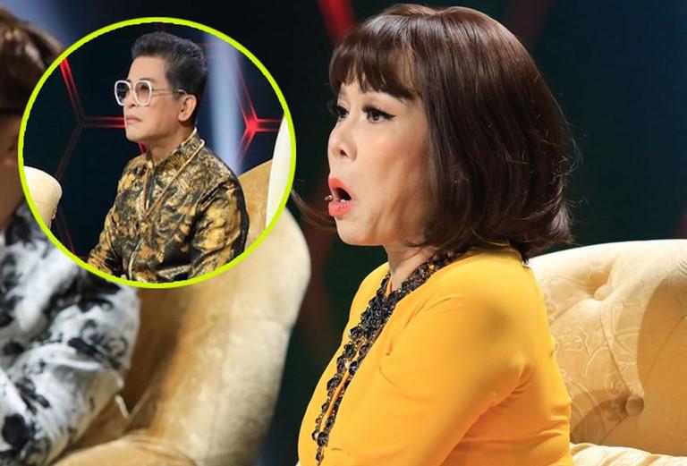 """Việt Hương """"đá xéo"""" vì MC Thanh Bạch """"ăn gian"""" trên sóng truyền hình - 3"""