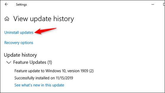 Cách khôi phục dữ liệu sau khi cập nhật Windows 10 - 2