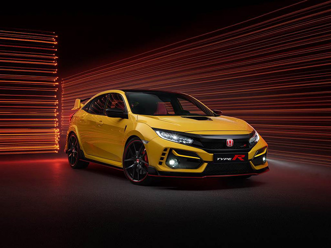A close-up of the Civic Type R Limited Edition is only 700 units