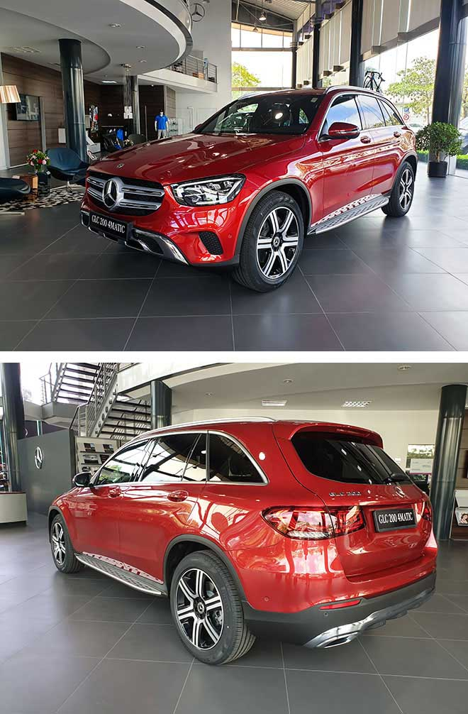 Cận cảnh hai mẫu xe Mercedes-Benz GLC 200 và GLC 200 4matic tại nhà máy - 1