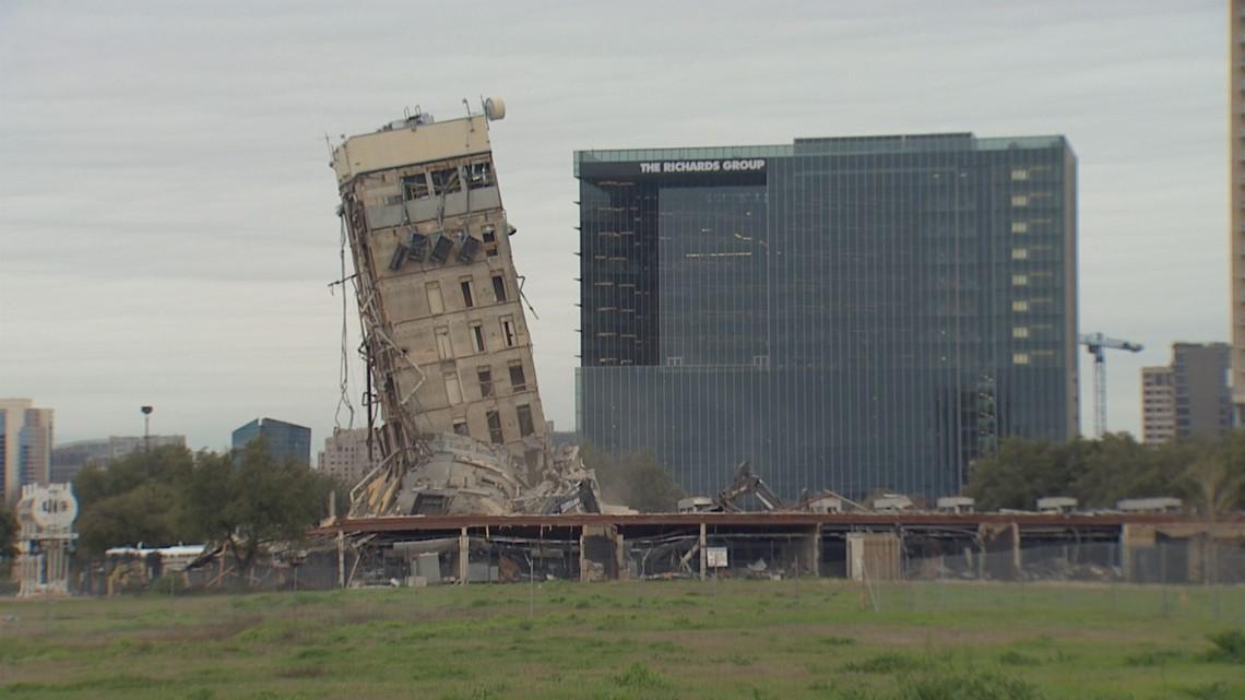 """Tòa nhà sắp đổ bỗng """"nổi bần bật"""" trên MXH vì lý do bất ngờ - 1"""
