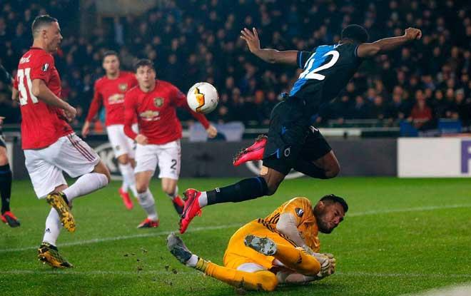 Rực lửa lượt đi vòng 1/16 Europa League: MU, Arsenal phải cảm ơn người Pháp - 1