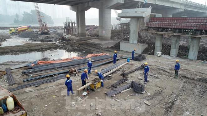 Cận cảnh công trình cầu vượt hồ Linh Đàm xóa điểm ùn tắc lớn nhất Hà Nội - 5