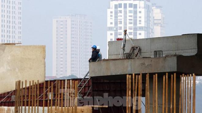Cận cảnh công trình cầu vượt hồ Linh Đàm xóa điểm ùn tắc lớn nhất Hà Nội - 6