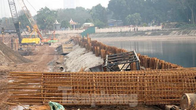 Cận cảnh công trình cầu vượt hồ Linh Đàm xóa điểm ùn tắc lớn nhất Hà Nội - 9