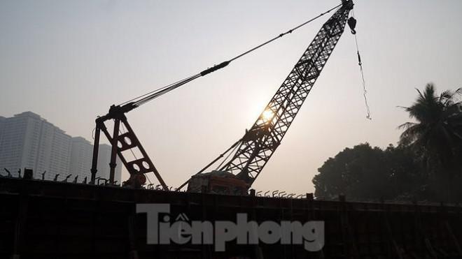 Cận cảnh công trình cầu vượt hồ Linh Đàm xóa điểm ùn tắc lớn nhất Hà Nội - 10