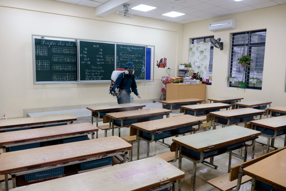 Tỉnh đầu tiên quyết định cho học sinh quay trở lại trường ngày 2/3
