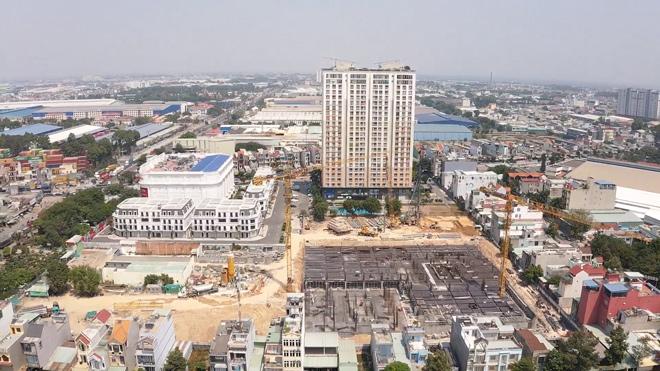 Thi công vượt tiến độ, dự án căn hộ cao cấp tại Bình Dương sắp ký hợp đồng mua bán