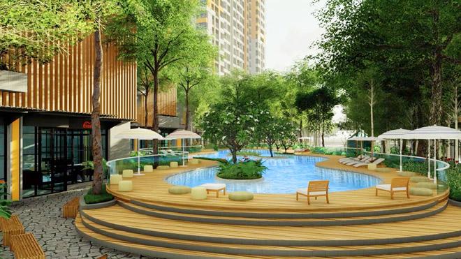 Thi công vượt tiến độ, dự án căn hộ cao cấp tại Bình Dương sắp ký hợp đồng mua bán - 4