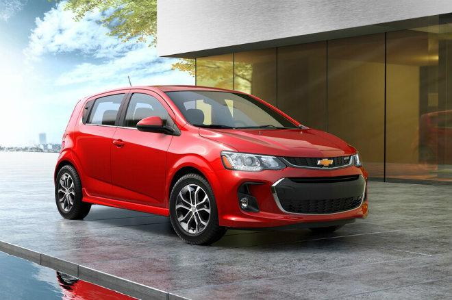 Mẫu Ôtô tốt nhất 2020 Chevrolet Sonic