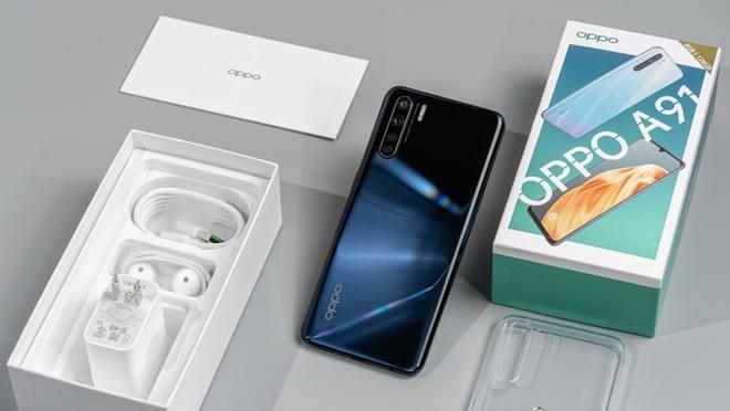 Ra mắt Oppo A91 cấu hình cực mạnh - 4