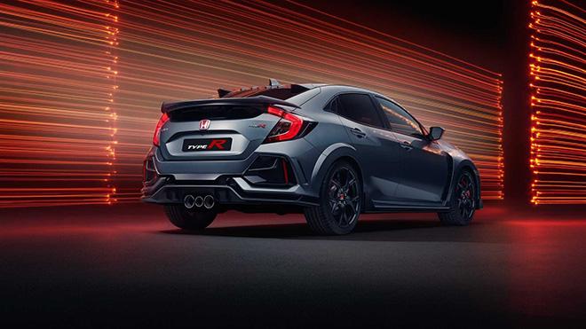 Honda trang bị cánh gió mới cho dòng xe Civic Type R Sport Line - 9