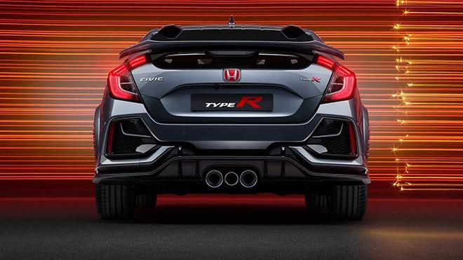 Honda trang bị cánh gió mới cho dòng xe Civic Type R Sport Line - 10