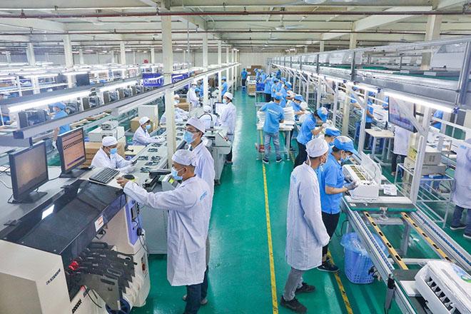 Giữa thời Covid-19, Asanzo đầu tư dây chuyền sản xuất máy lạnh hiện đại mới - 1